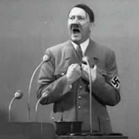 Adolf Hitler přednáší projev v Kruppových závodech roku 1936 | Přesný čas online.cz