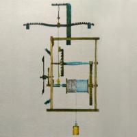 Schéma lihýřových hodin - lihýřového stroje