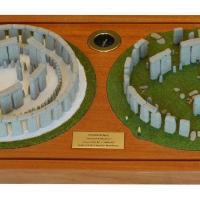 Model Stonehenge dnes a v minulosti - Lloyd Matthews