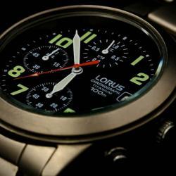 Náramkový chronograf