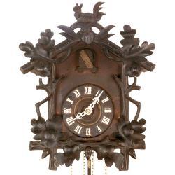 Klasické kukačkové hodiny z jihu Německa 19. stol.