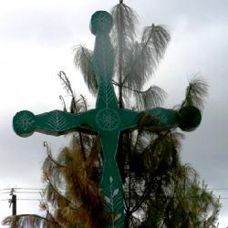 Zelený Mayský kříž jako symbol Stromu Života