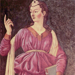 Sibyla Kumanna Andrea del Castagno r. 1450